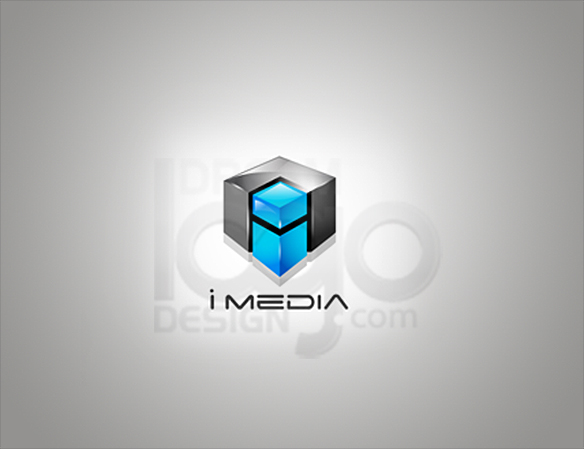 IMedia 3D Logo Design - DreamLogoDesign