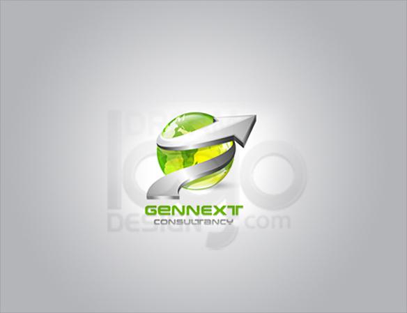 Gennext 3D Logo Design - DreamLogoDesign