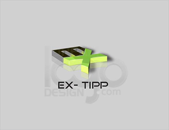 Ex-Tipp 3D Logo Design - DreamLogoDesign