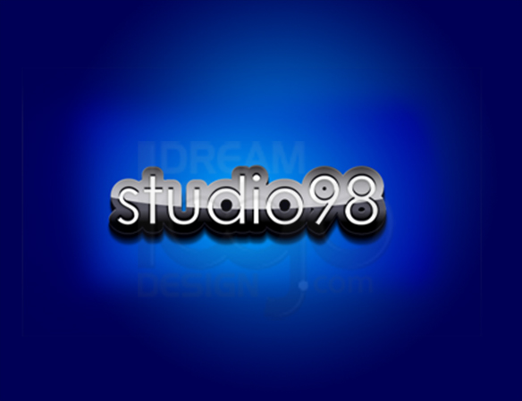 Studio98 3D Logo Design - DreamLogoDesign