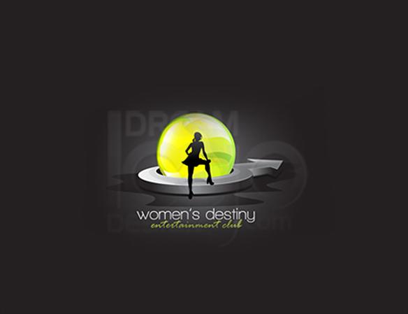 Women's Destiny 3D Logo Design - DreamLogoDesign
