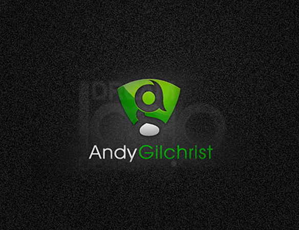 Andy Gilchrist 3D Logo Design - DreamLogoDesign