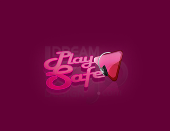 Play Safe 3D Logo Design - DreamLogoDesign