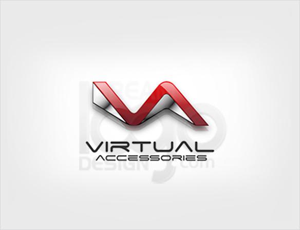 Virtual Accessories Logo Design - DreamLogoDesign