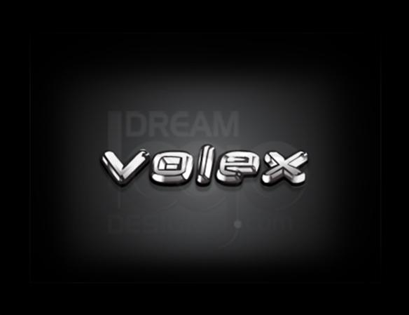 Volex 3D Logo Design - DreamLogoDesign