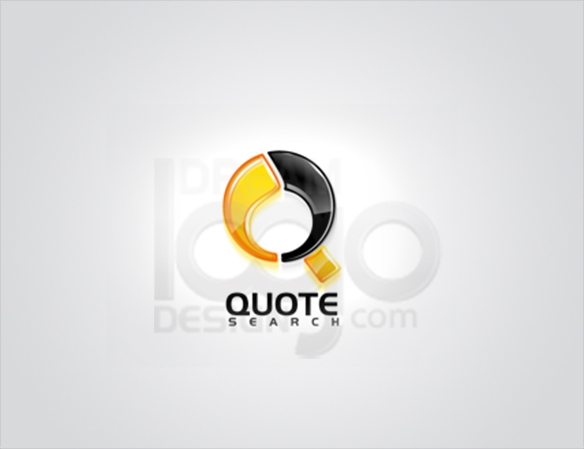 Quote Search Logo Design - DreamLogoDesign
