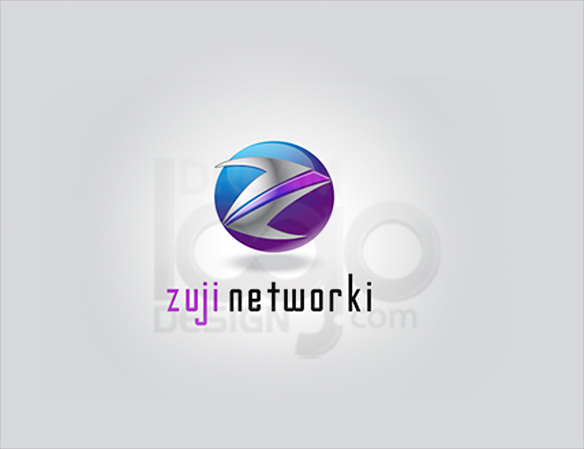 Zuji Networki Logo Design - DreamLogoDesign