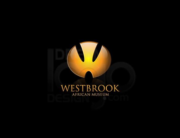 WestBrook African Museum 3D Logo Design - DreamLogoDesign
