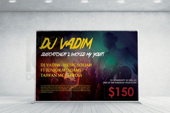 Ad Banner Design Portfolio 1 - DreamLogoDesign