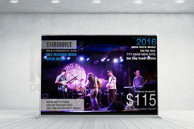 Ad Banner Design Portfolio 3 - DreamLogoDesign