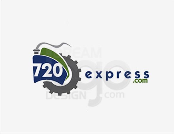 720 Express 3D Logo Design - DreamLogoDesign