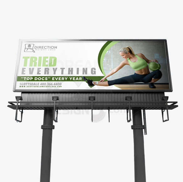 Billboard Design Portfolio 1 - DreamLogoDesign