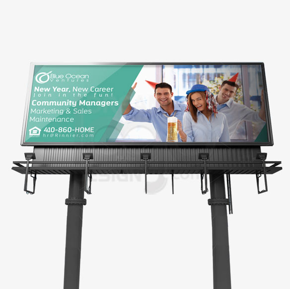 Billboard Design Portfolio 4 - DreamLogoDesign