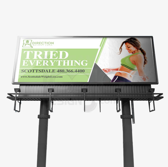 Billboard Design Portfolio 5 - DreamLogoDesign