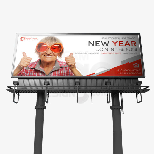 Billboard Design Portfolio 6 - DreamLogoDesign