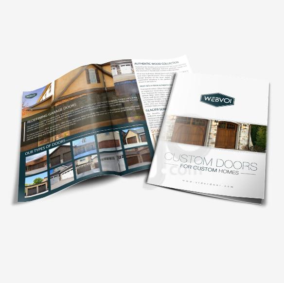 Bi Fold Brochure Design Portfolio 1 - DreamLogoDesign
