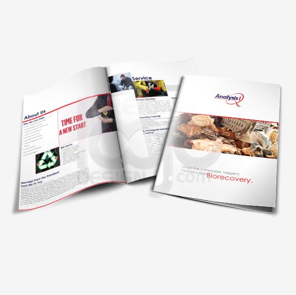 Bi Fold Brochure Design Portfolio 3 - DreamLogoDesign