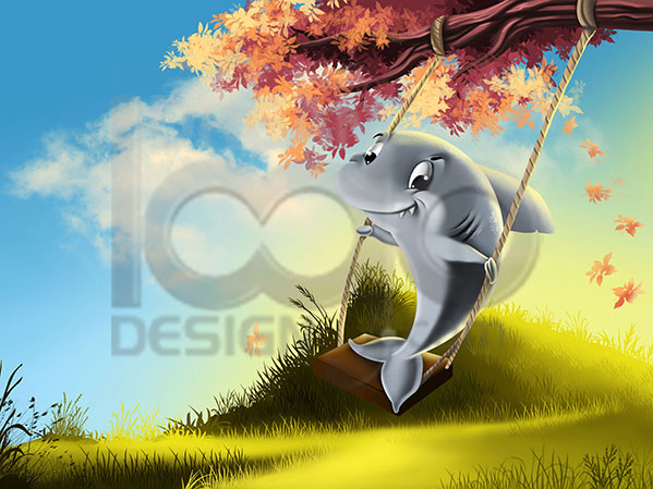 Children Book Illustration Design Portfolio 4 - DreamLogoDesign