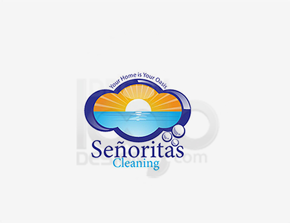 Cleaning Logo Design Portfolio 1 - DreamLogoDesign