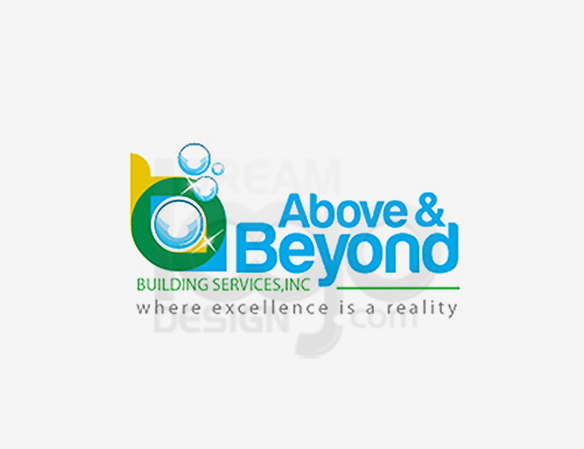 Above & Beyond Building Services Logo Design - DreamLogoDesign