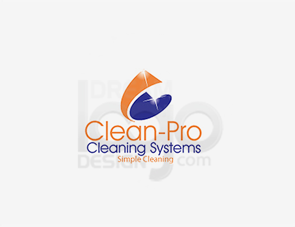 Clean Pro Cleaning Systems Logo Design - DreamLogoDesign