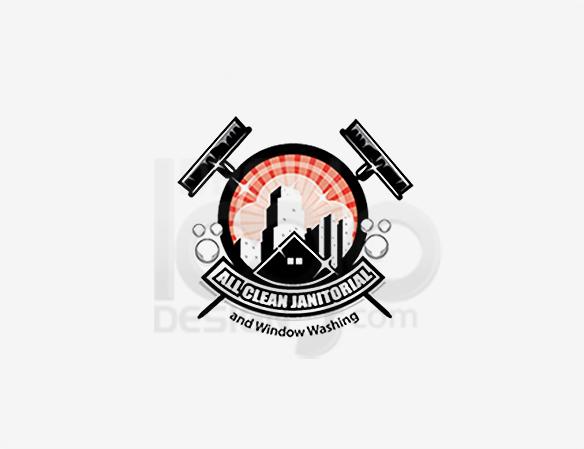 Cleaning Logo Design Portfolio 21 - DreamLogoDesign