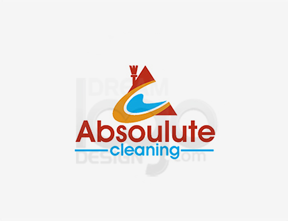 Absolute Cleaning Logo Design - DreamLogoDesign