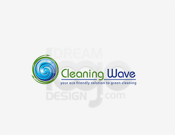 Cleaning Logo Design Portfolio 26 - DreamLogoDesign