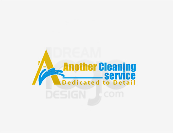 Another Cleaning Service Logo Design - DreamLogoDesign