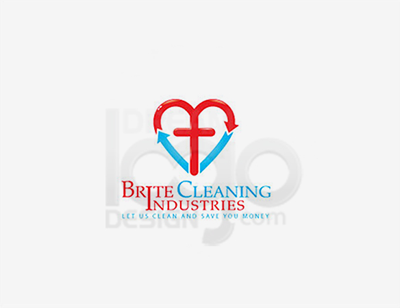 Cleaning Logo Design Portfolio 29 - DreamLogoDesign