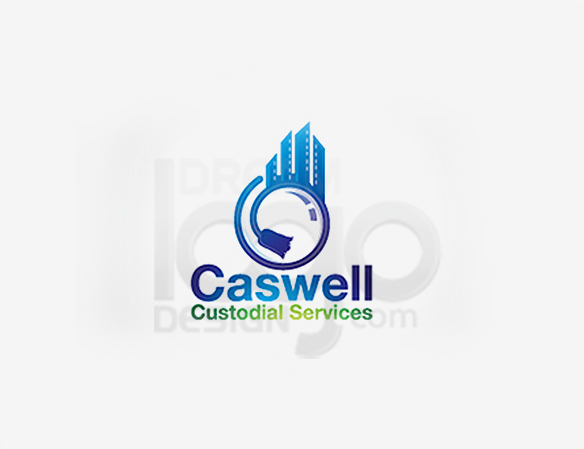 Caswell Custodial Services Cleaning Logo Design - DreamLogoDesign