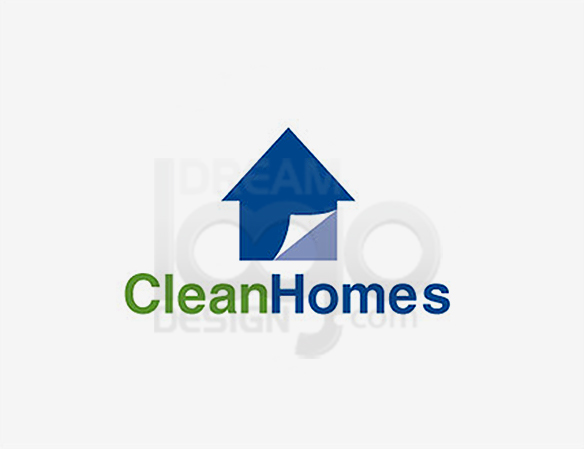 Clean Homes Logo Design - DreamLogoDesign