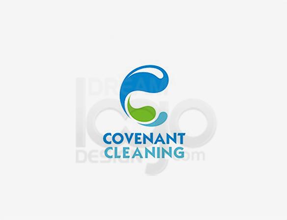 Covenant Cleaning Logo Design - DreamLogoDesign