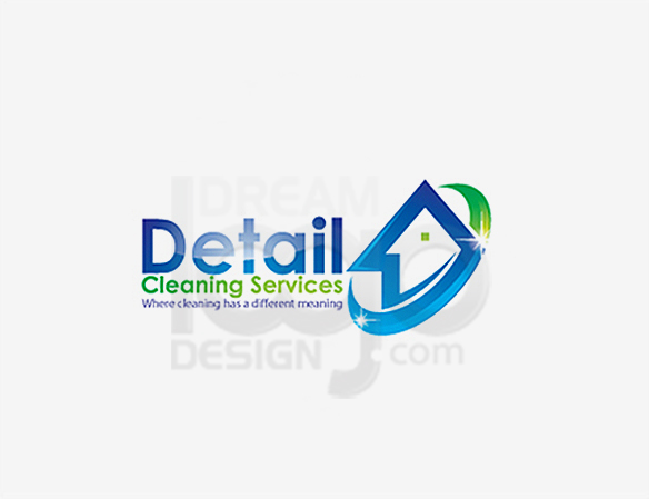Detail Cleaning Services Logo Design - DreamLogoDesign