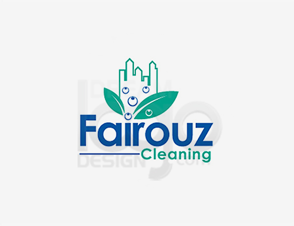 Fairouz Cleaning Logo Design - DreamLogoDesign