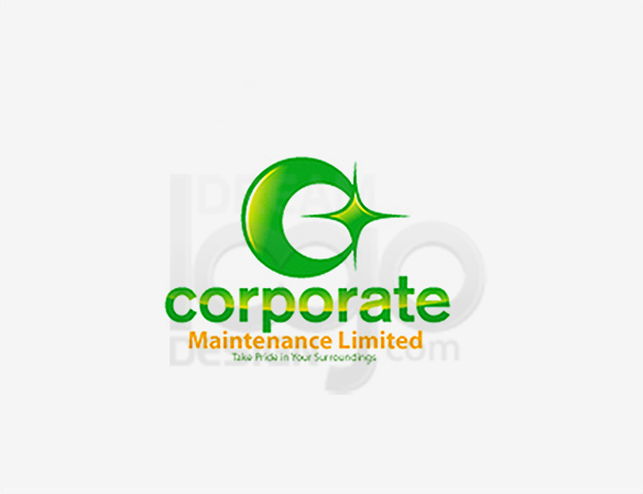 Corporate Maintenance Limited Cleaning Logo Design - DreamLogoDesign