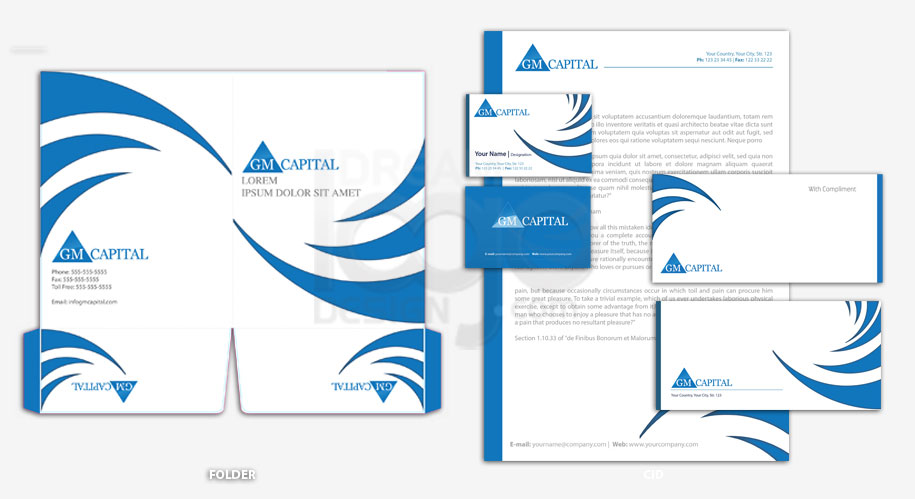 Corporate Identity Design Portfolio 3 - DreamLogoDesign
