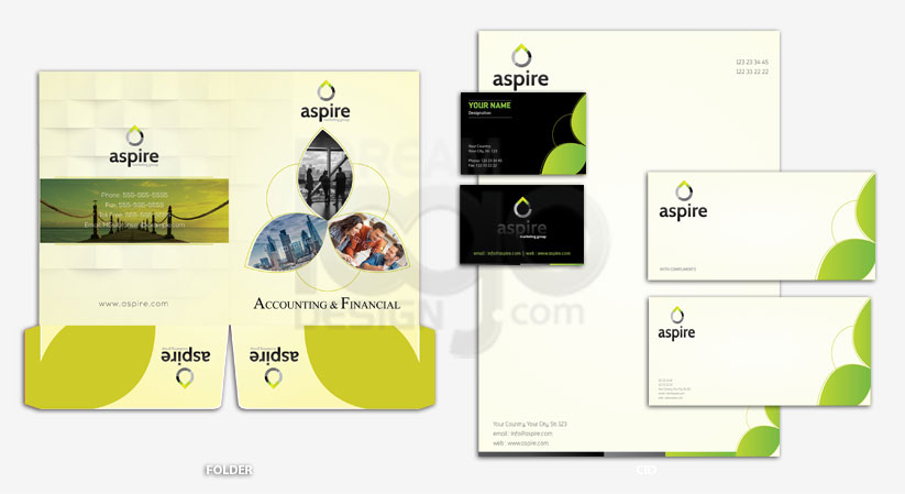 Corporate Identity Design Portfolio 4 - DreamLogoDesign