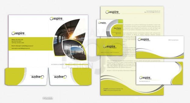 Corporate Identity Design Portfolio 6 - DreamLogoDesign