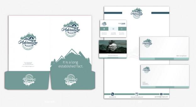 Corporate Identity Design Portfolio 9 - DreamLogoDesign