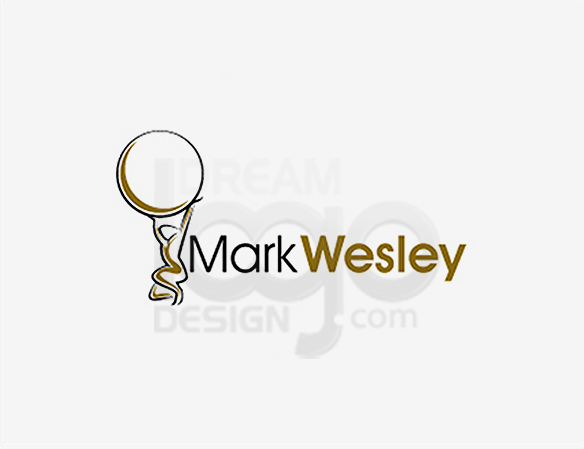 Mark Wesley Education Logo Design - DreamLogoDesign
