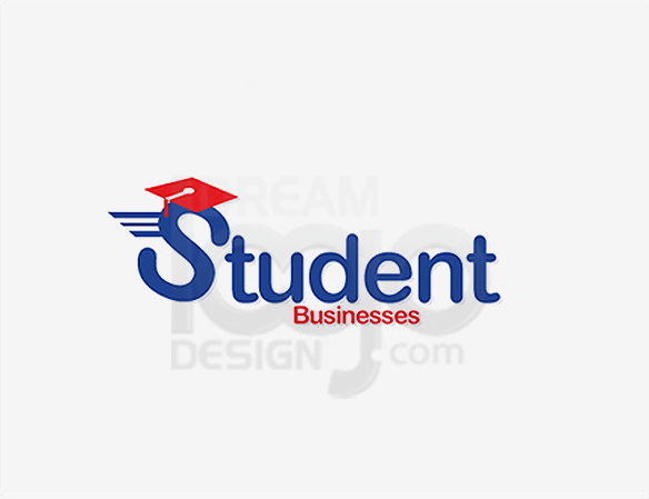 Student Business Education Logo Design - DreamLogoDesign
