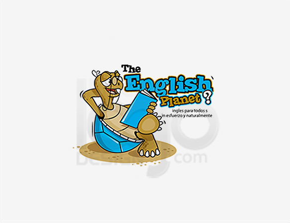 The English Planet Education Logo Design - DreamLogoDesign