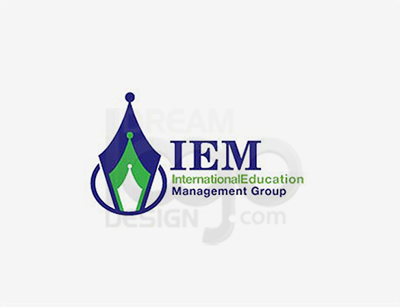 IEM International Education Management Group Logo Design - DreamLogoDesign