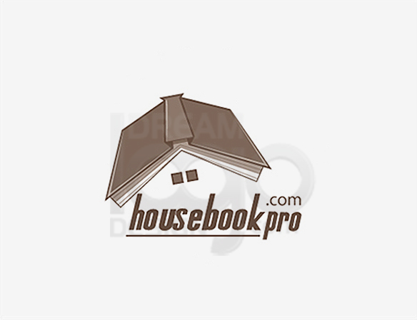 House Book Education Logo Design - DreamLogoDesign