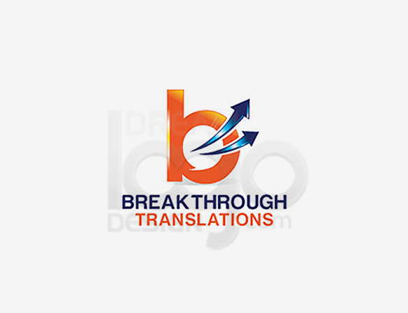 Break Through Translations Education Logo Design - DreamLogoDesign