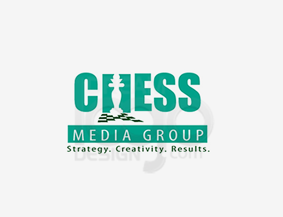 Chess Media Group Entertainment Logo Design - DreamLogoDesign