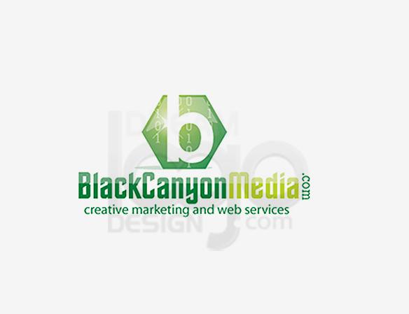 Black Canyon Media Entertainment Logo Design - DreamLogoDesign