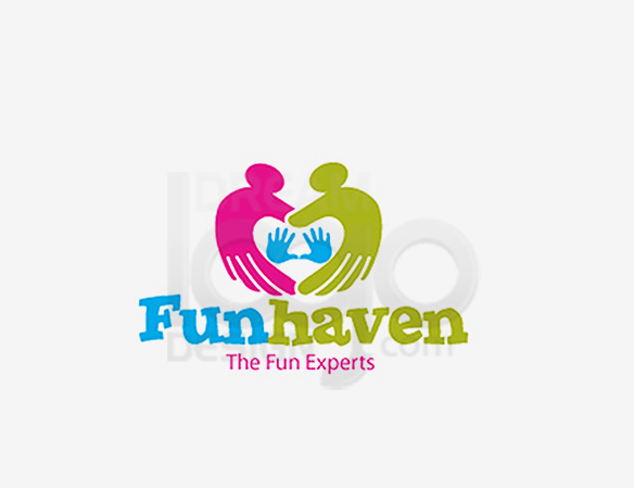 Fun Haven The Fun Experts Entertainment Logo Design - DreamLogoDesign