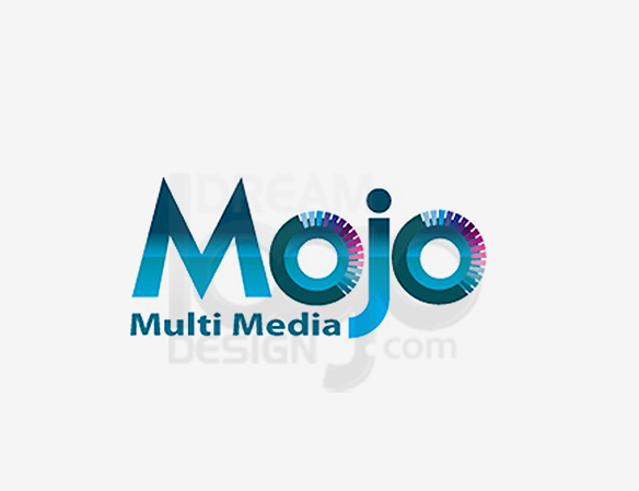 Mojo Multi Media Entertainment Logo Design - DreamLogoDesign